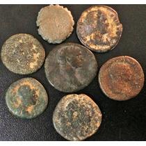 Lote De 7 Moedas Antigas Império Romano Tipos Raros 2