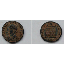 Linda Moeda De Crispus Antiga Do Império Romano