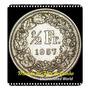 Ch Km 23 1/2 Franc 1957 B Mbc Prata