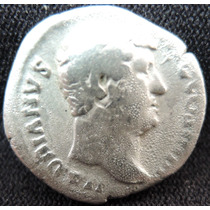 Denário Romano De Prata Fantástico Imperador Hadrianus