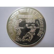 Hungria Moeda Prata Forint 1986 Futebol