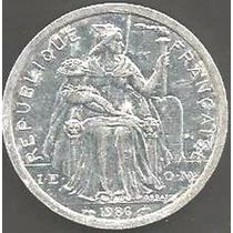 Polinesia Francesa - 2 Francs 1986 ------------ = 2425=