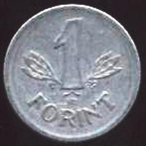 Hungria - 1 Forint 1968 ------------------- =1462=