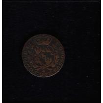 Moeda Polonia 1 Groschen 1767 -g- Cobre