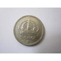 Suécia Moeda Prata 25 Ore 1947