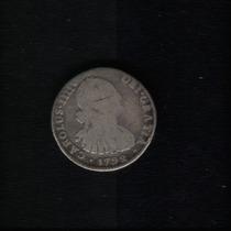 Moeda Bolivia 1 Reales 1792-pr Prata