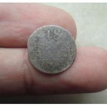 Alemanha Saxonia 1/48 Thaler 1811, Stuttgart, Prata, 16mm