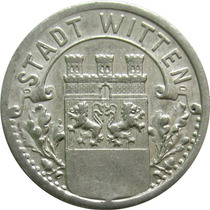 Alemanha / Witten - 10 Pfennig 1920 (notgeld)