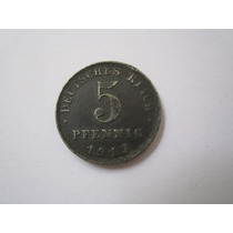 Alemanha Moeda 5 Pfennig 1919