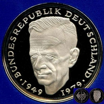 1987 G * 2 Deutsche Mark Schumacher Polierte Pp Proof, Top