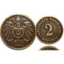 M-67 Moeda Alemanha 1916 Cobre Reich Imp.raridade Cedula Sel