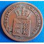 Alemanha-moeda Um Kreuzer-1869-perfeita-tamanho Pequeno
