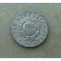 8251 - Hungria 1 Forint 1968, 23mm, Serrilha - Aluminio