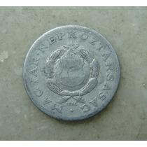 9660 - Hungria 1 Forint 1968, 23mm, Serrilha - Aluminio
