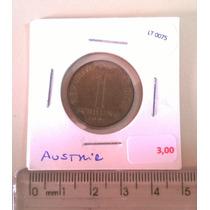 Moeda Estrangeira Austria 1 Schilling 1991 - Lt0075