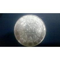 Moeda Prata 500 Schilling- 200 Anos Maria Theresias Austria