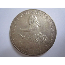 Austria Moeda Prata 25 Shilling 1963