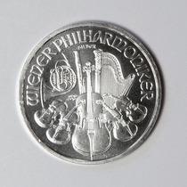 Onça De Prata Pura Da Áustria Tipo Moeda Orquestra De Viena