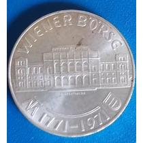 Austria-moeda Prata De 25 Schilling-ano 1971-wiener Borse