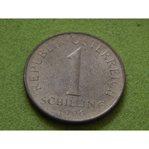 Moeda Da Áustria De 1 Schilling De 1990 (ref 1775)