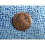 Moeda Secular Da Bélgica - 1 Cent De 1869