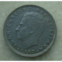 Espanha Juan Carlos I 25 Ptas - 1980 - Niquel 26mm - Copa 82
