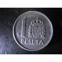 Moeda De 1 Peseta Da Espanha De 1986