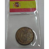 Espanha: Antiga Moeda 2 Centimos 1904 - S/fc