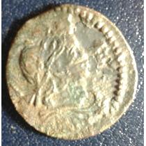 Moeda Espanha Ano 1645 Luis Xiv - Barcino