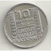 10 Francos - 1932 - França - Prata