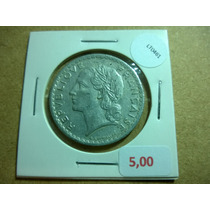 Moeda França 1949 5 Francos Alumínio - Lt0461