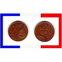 Moeda França 2000 * Marianne * 1 Euro .cent (132)