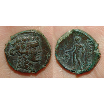 Thrace, Maroneia Ae16. Moeda Antiga Grega Grécia Soberba!!!