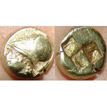 Ionia, Phokaia Electrum 2.52 Gr Moeda De Ouro E Prata Grega