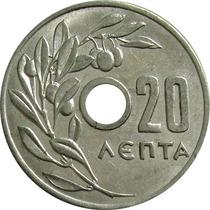 Grécia - 20 Lepta 1954