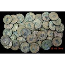 Moedas Antigas Império Romano Alto Padrão Escavadas Europa