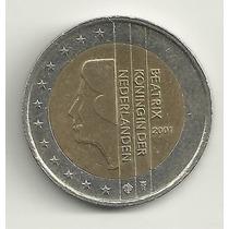 2 Euro - Holanda - 2001 - Circulação