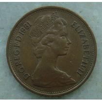 2306 Inglaterra 1981 Two Pence Elizabeth I I 26mm - Bronze