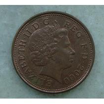2290 Inglaterra 2000 Two Pence Elizabeth I I 26mm - Bronze