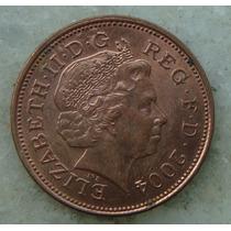 9398 Inglaterra Elizabeth 2004 Two Pence 26mm - Bronze