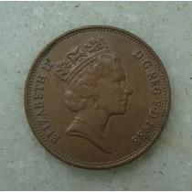 3362 Inglaterra 1988 Two Pence Elizabeth I I 26mm - Bronze
