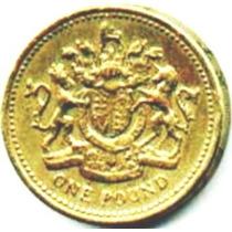 Inglaterra - 1 Pound 1983 - Br/al ----- =995=
