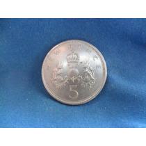 Moeda Inglaterra - 5 New Pence - 1978 - Elizabeth Il