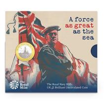 Moeda Comemorativa - Tributo À Royal Navy - Primeira Guerra