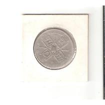 Linda Moeda De Prata Da Inglaterra - 1 Florin De 1921 !!!