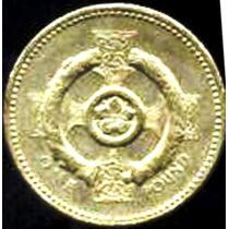 Inglaterra - 1 Pound 2001 - Br/al ------ =993=
