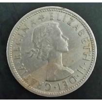 Moeda Inglaterra - 2 Dois Two Shillings 1966