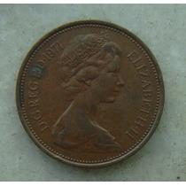 1500 - Inglaterra 1971 Two Pence 26mm - Bronze