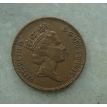 1552 Inglaterra 2 New Pence, 1988 , Elizabeth Bronze, 26 Mm