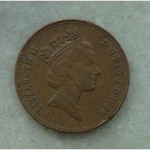 1610 Inglaterra 1989 Two Pence Elizabeth I I 26mm - Bronze